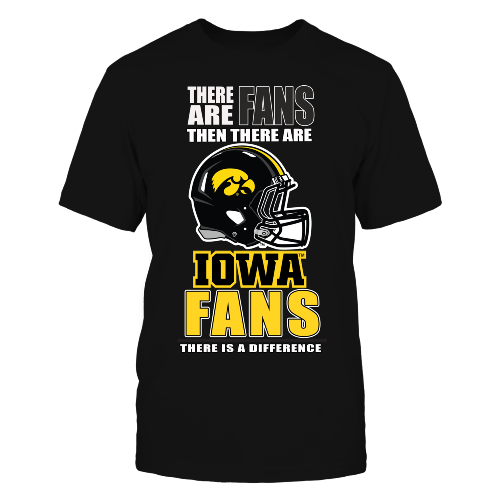 University Iowa Football Fans Front picture