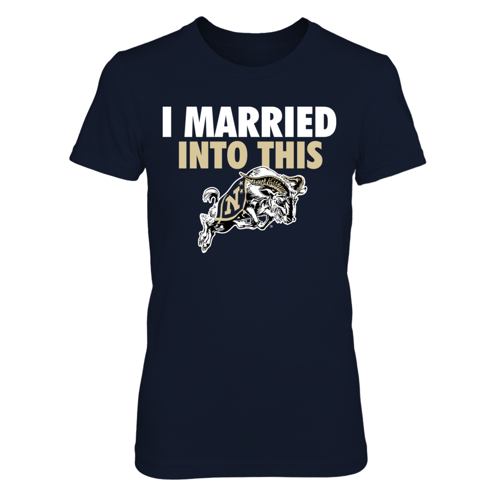 Married Into - Navy Midshipmen Front picture