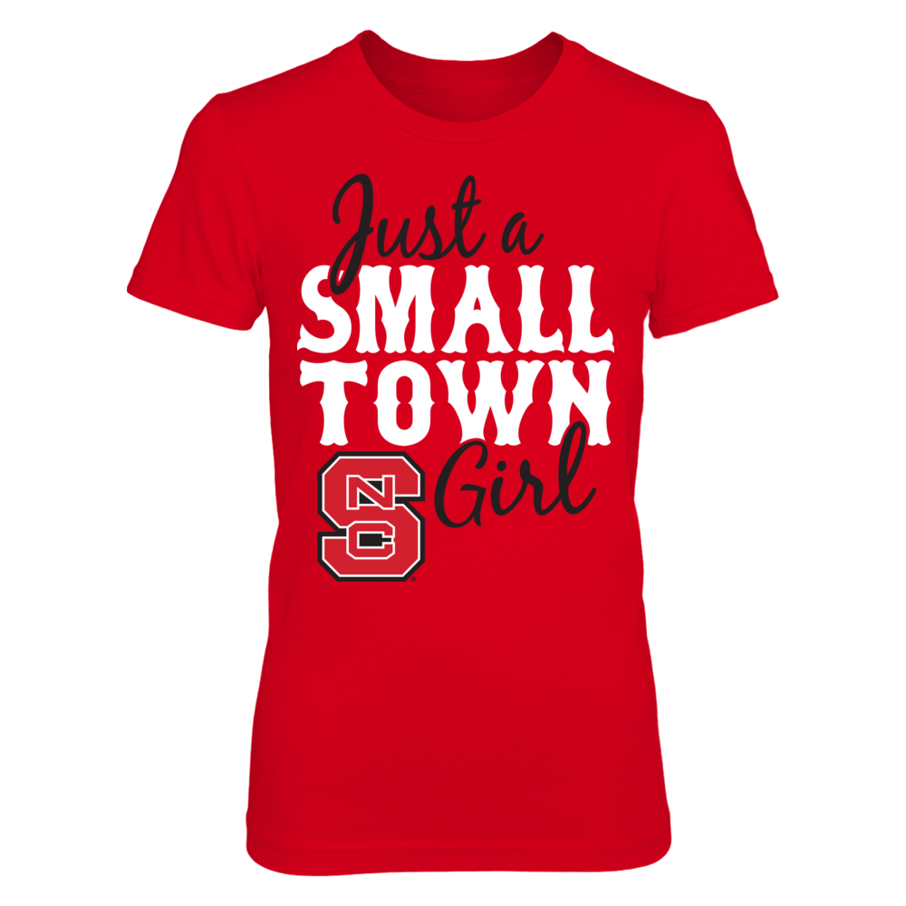 Just A Small Town Girl - NC State Wolfpack Front picture