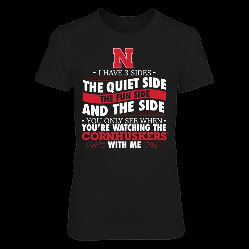 I Have 3 Sides - Nebraska Cornhuskers Front picture