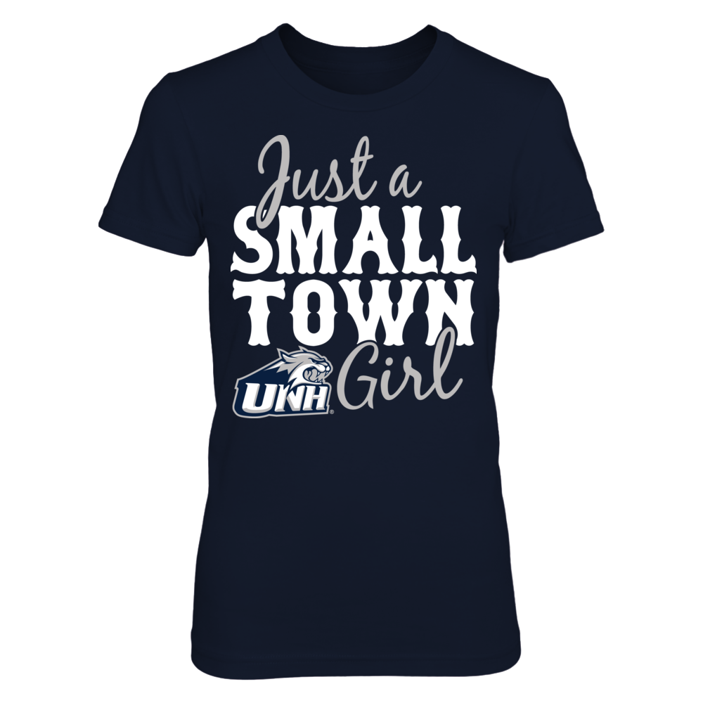 New Hampshire Wildcats Just A Small Town Girl - New Hampshire Wildcats FanPrint