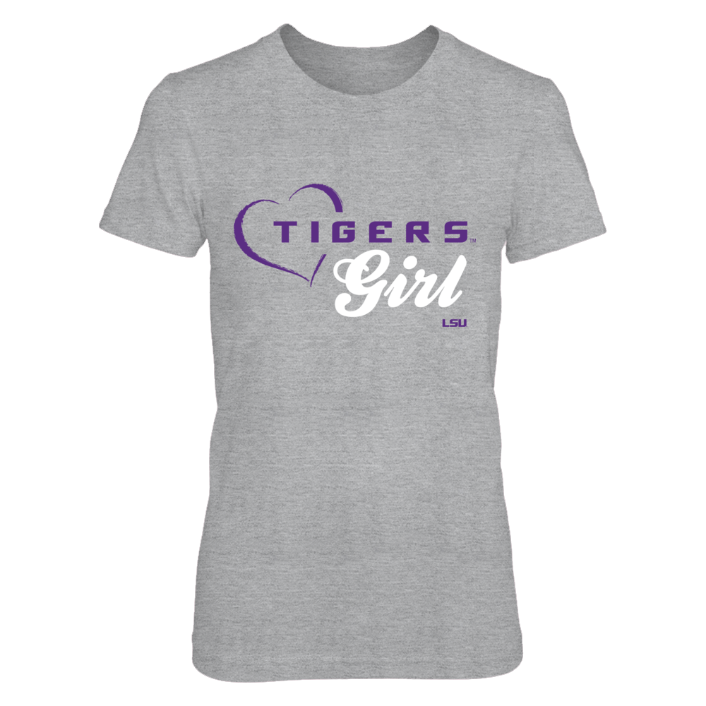 Tigers Girl - LSU Tigers T Shirt Front picture