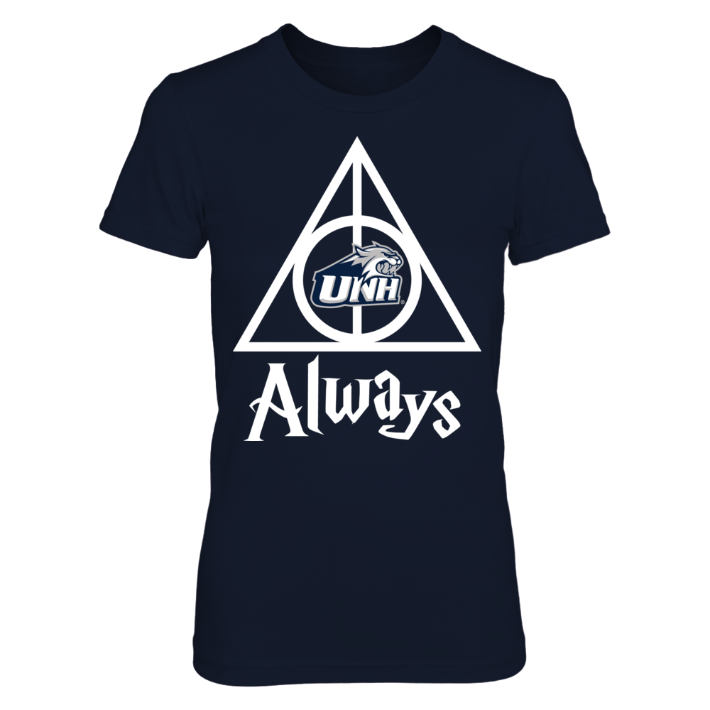New Hampshire Wildcats Deathly Hallows - New Hampshire Wildcats FanPrint