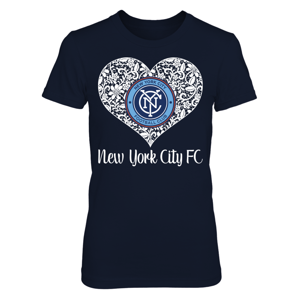 Lace Logo - New York City FC Front picture