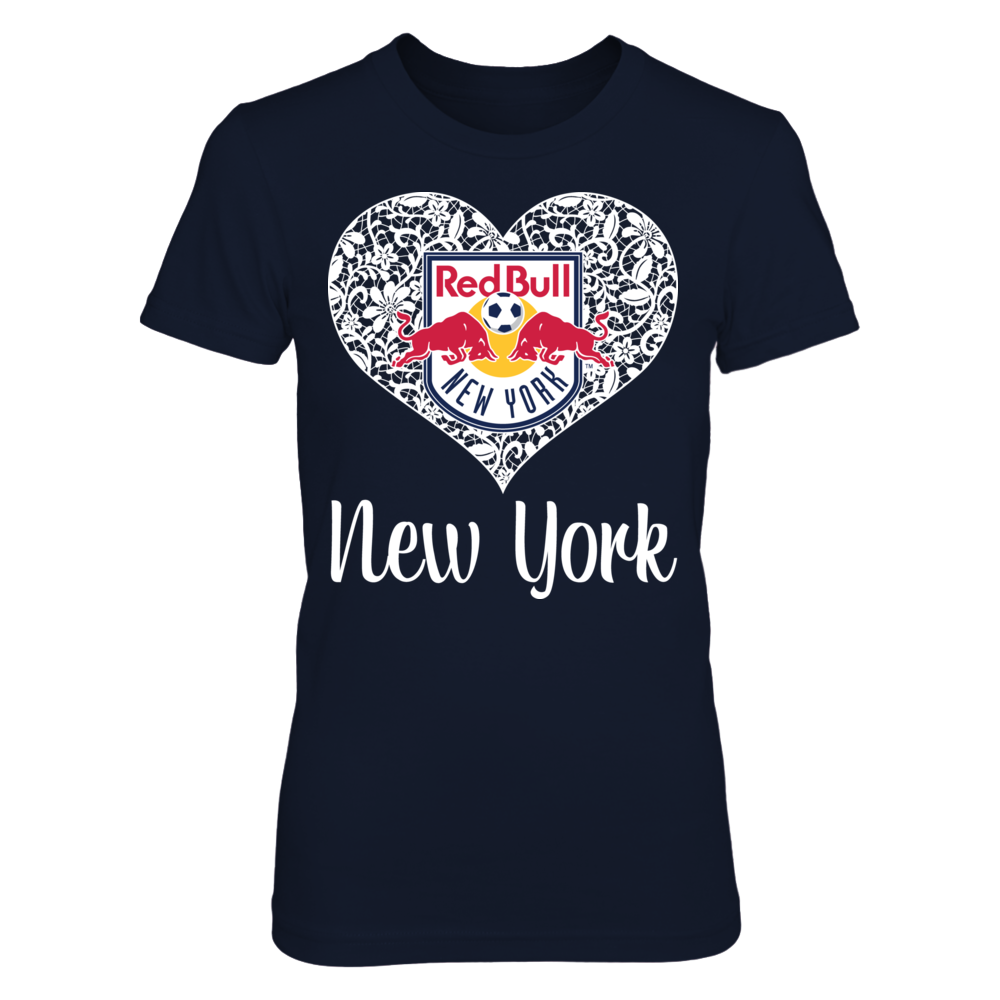 Lace Logo - New York Red Bulls Front picture