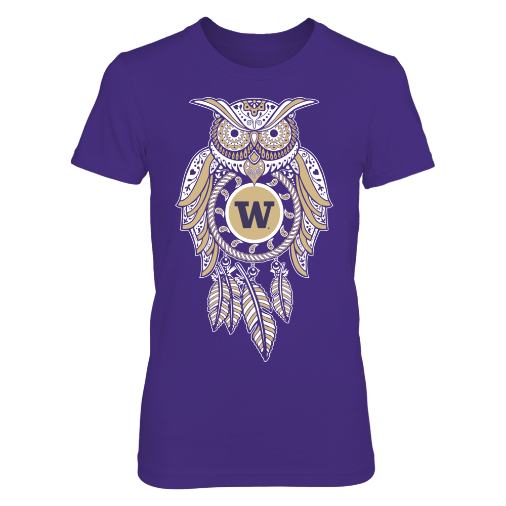 Sugarskull Owl - Washington Huskies Front picture