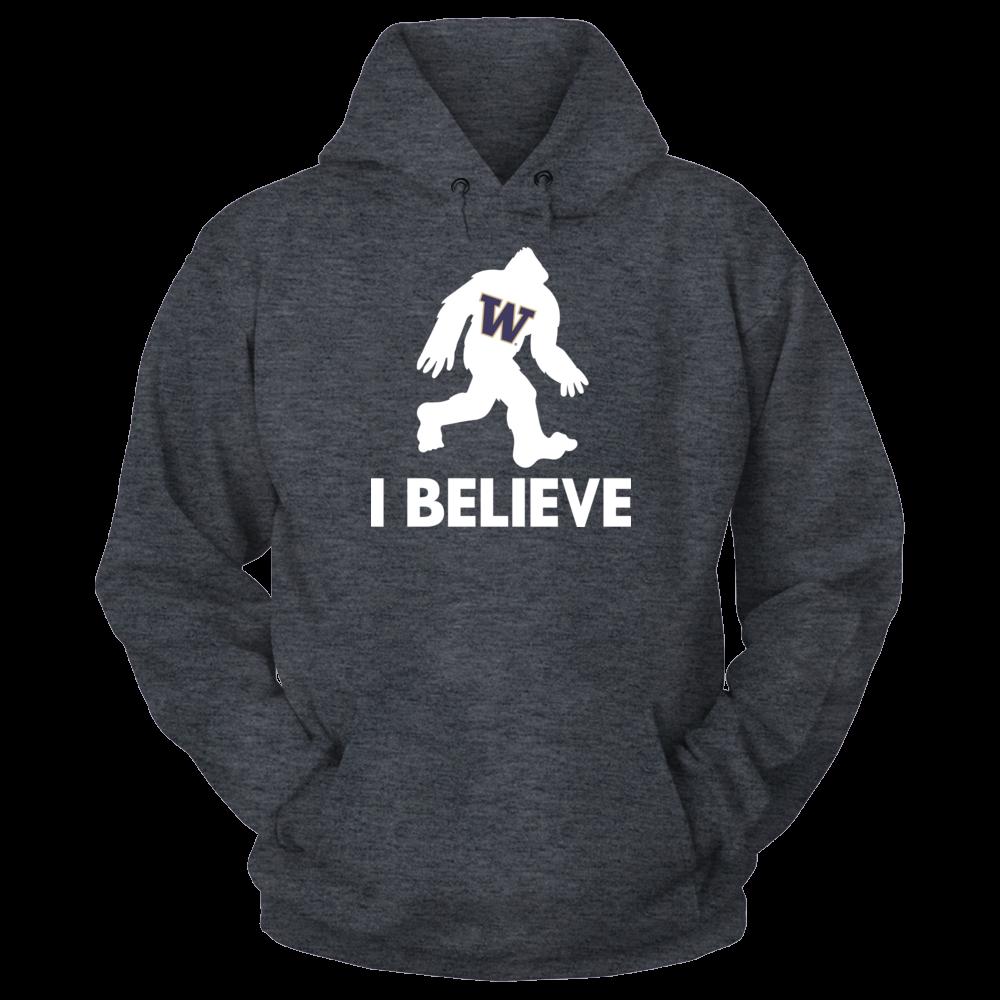 I Believe - Washington Huskies Front picture