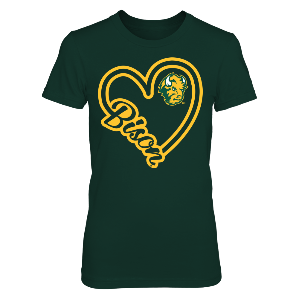 Heart Script - North Dakota State Bison Front picture
