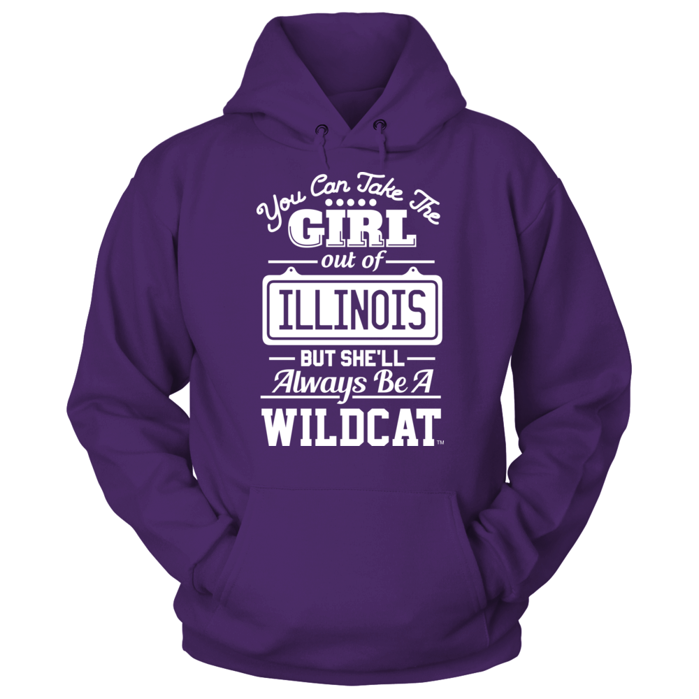 Take The Girl Out But She'll Always Be - Northwestern Wildcats Front picture