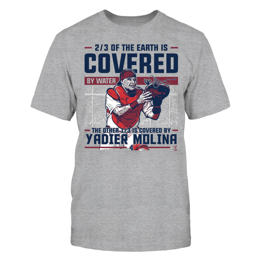 Yadier Molina - Covered By Front picture