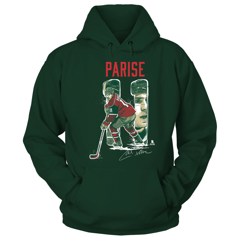 Zach Parise - Player Portrait Front picture