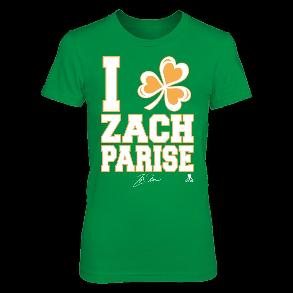 Zach Parise - I Shamrock Front picture