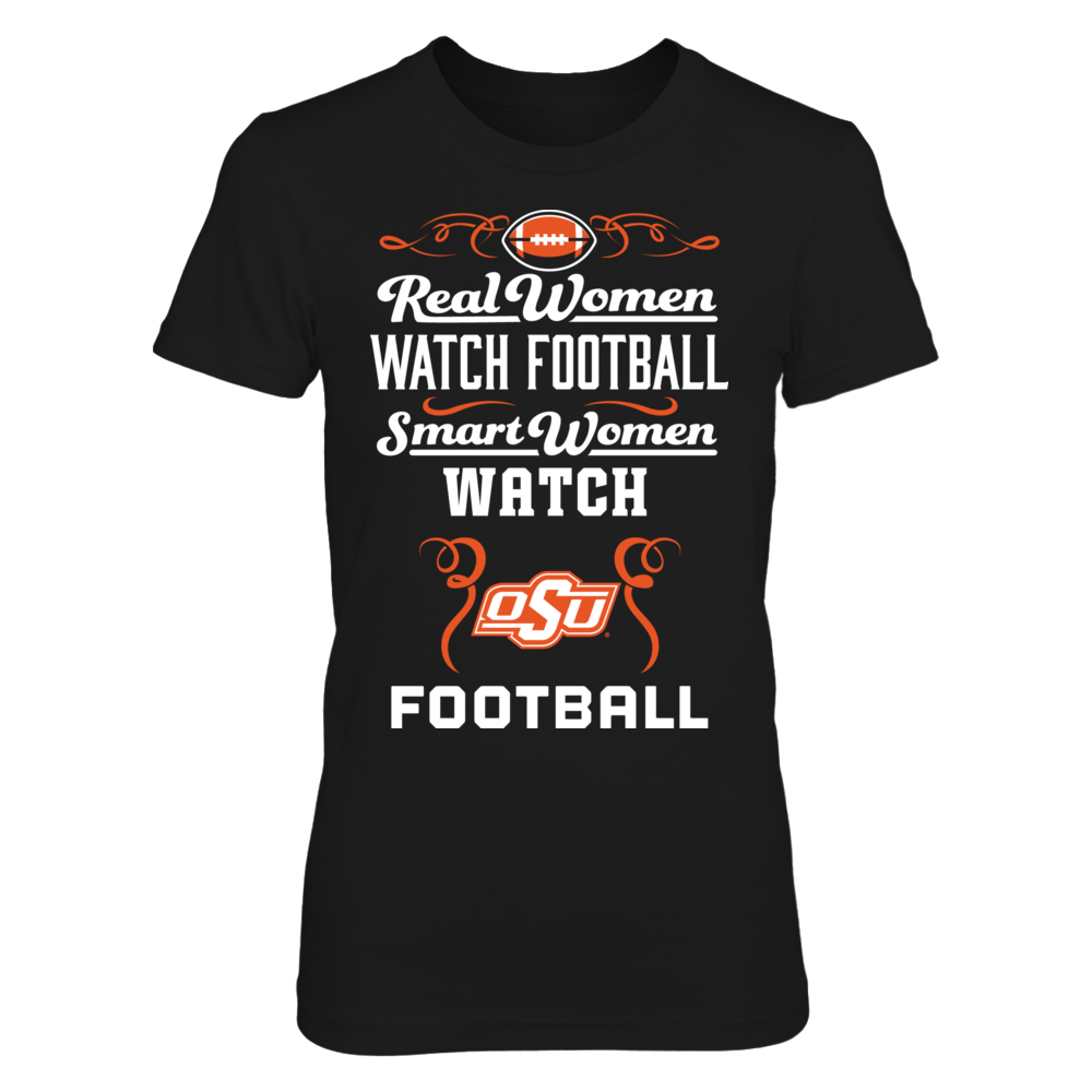 Oklahoma State Cowboys Real Women Watch Football - Oklahoma State Cowboys FanPrint