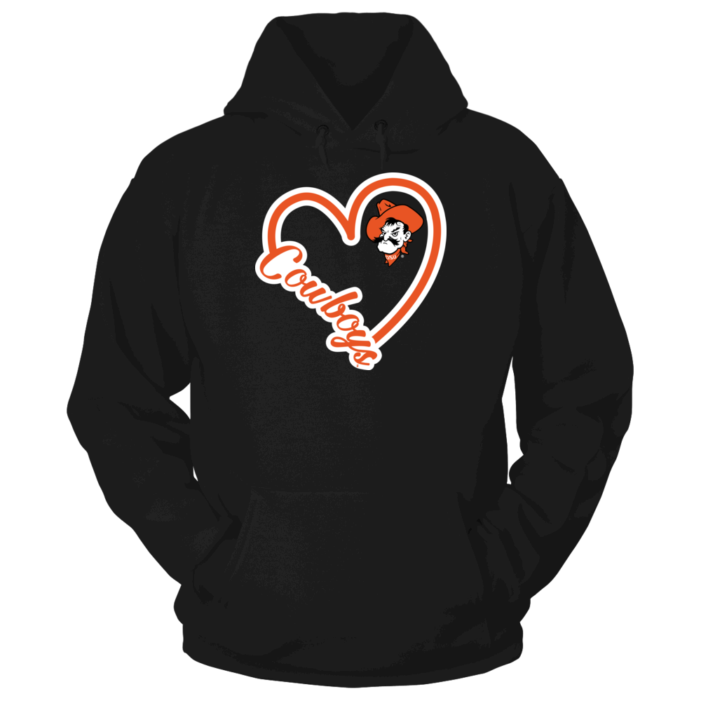 Heart Mascot Script - Oklahoma State Cowboys Front picture