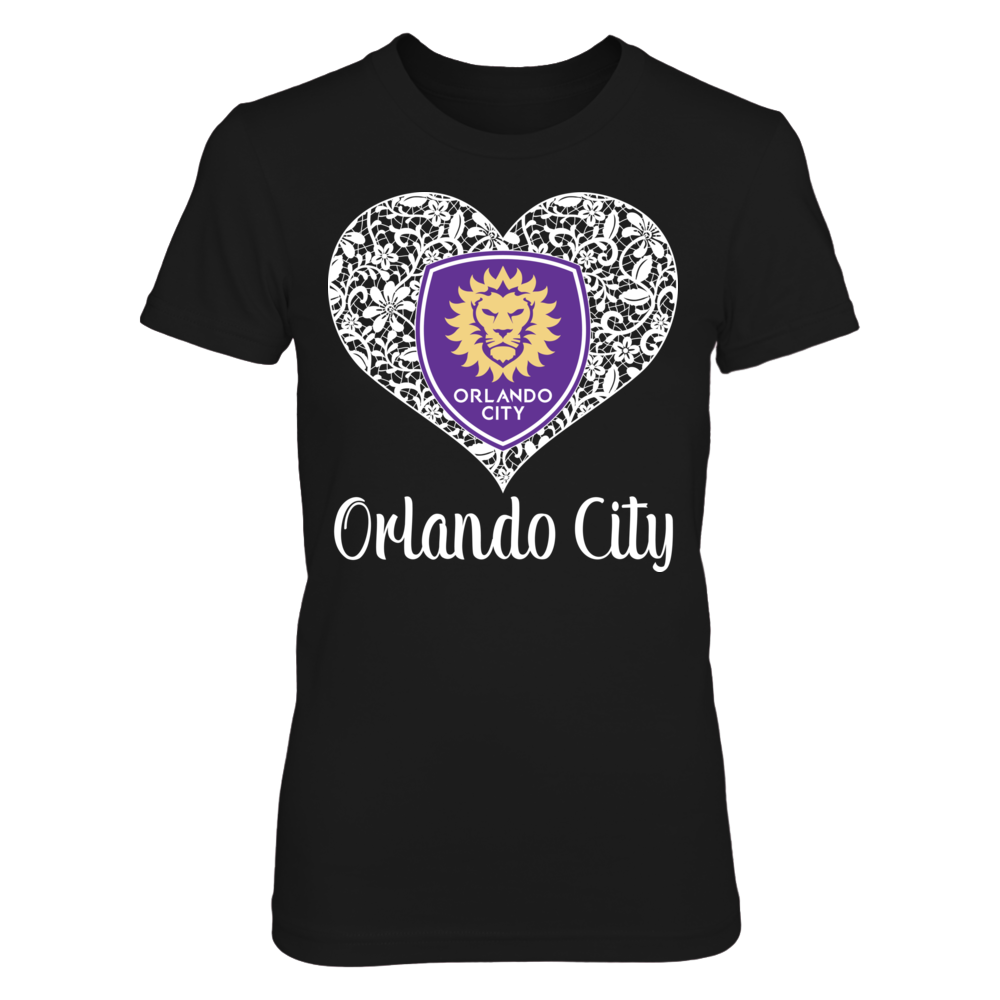 Orlando City SC Lace Logo - Orlando City SC FanPrint