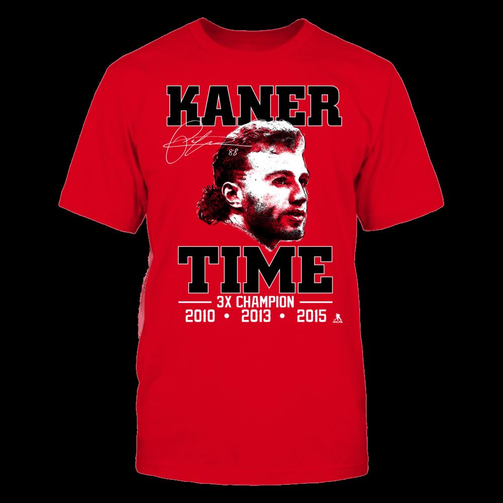 Patrick Kane - Kaner Time 3X Champion Front picture