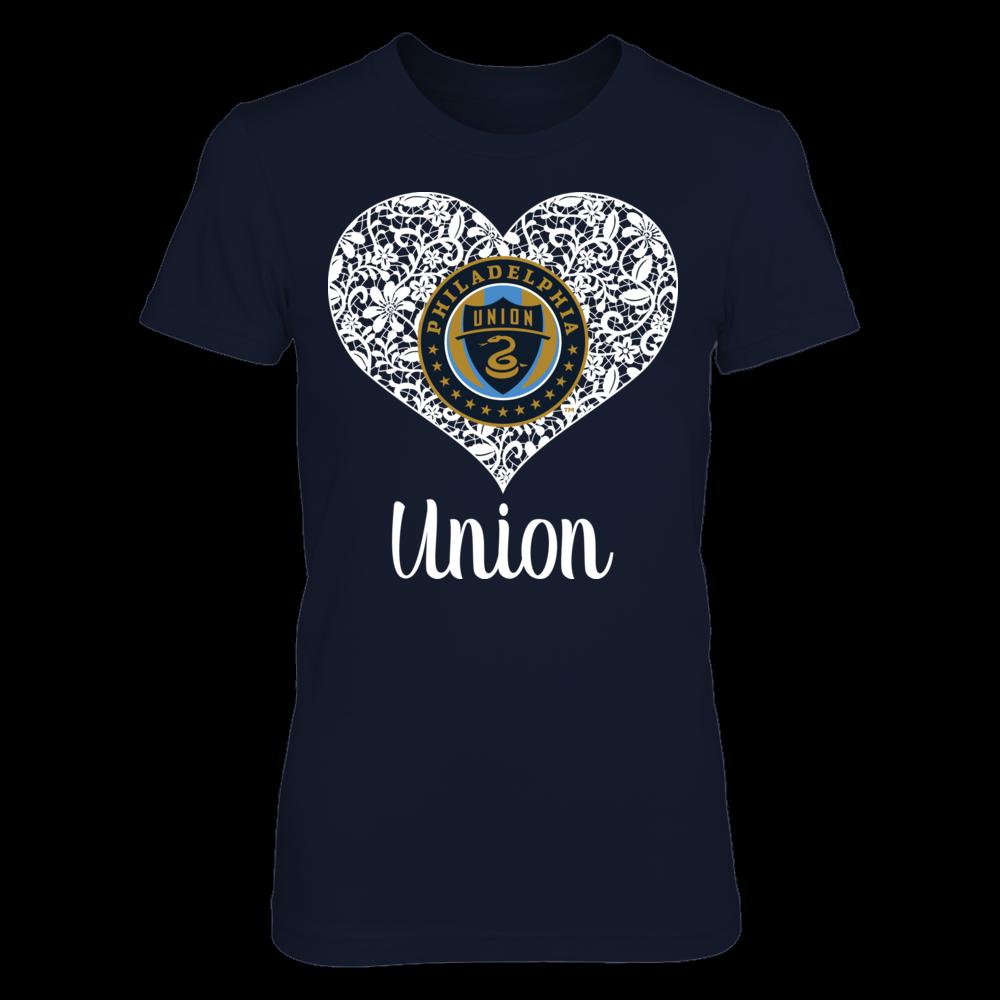 Philadelphia Union Lace Logo - Philadelphia Union FanPrint