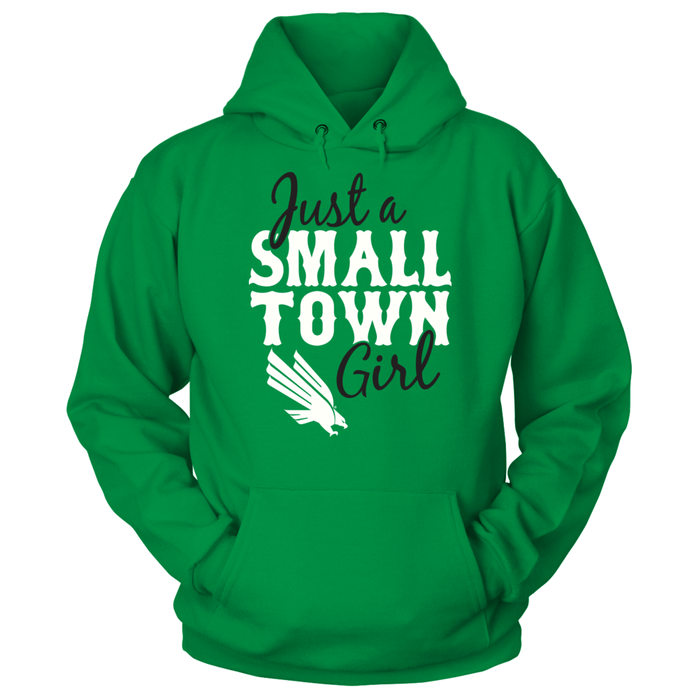 North Texas Mean Green Just A Small Town Girl - North Texas Mean Green FanPrint