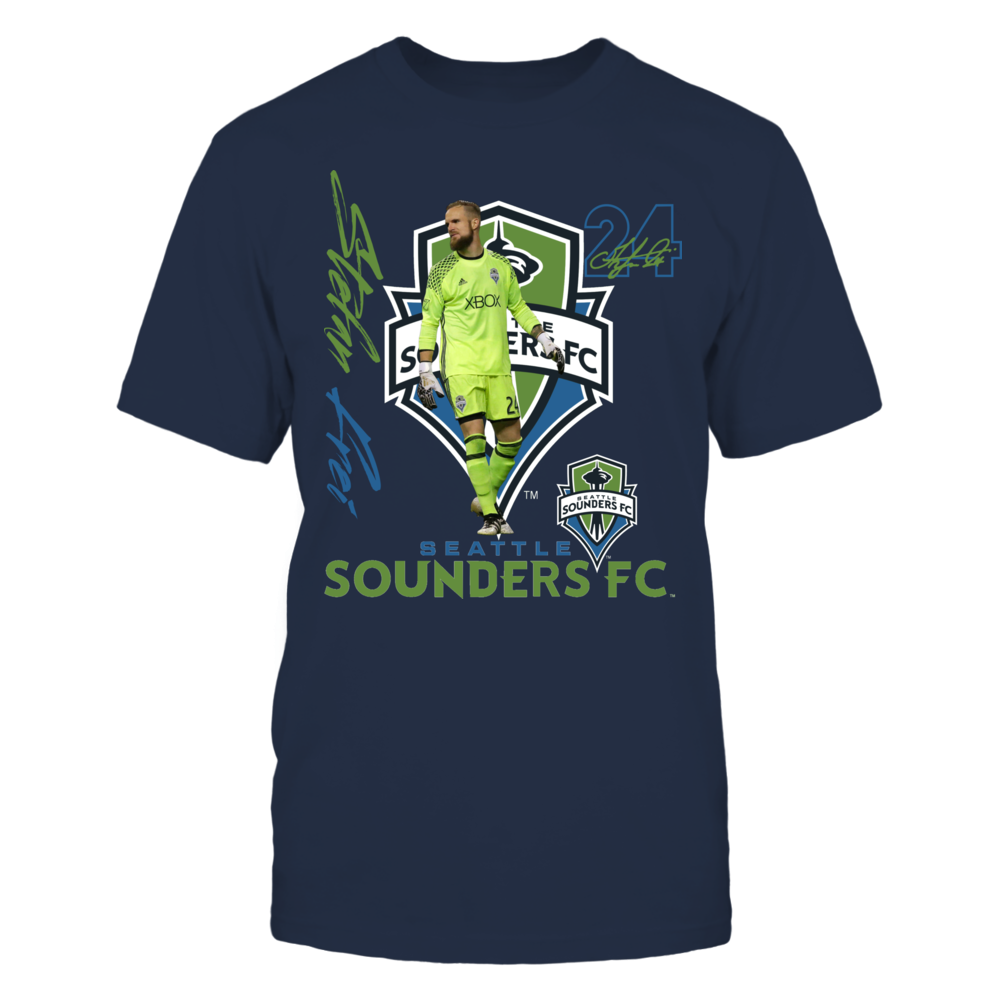 Official Seattle Sounders FC Fan Gear Stefan Frei Front picture