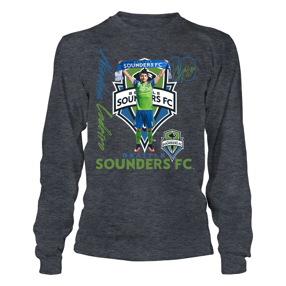 Official Seattle Sounders FC Fan Gear Nicolas Lodeiro Front picture