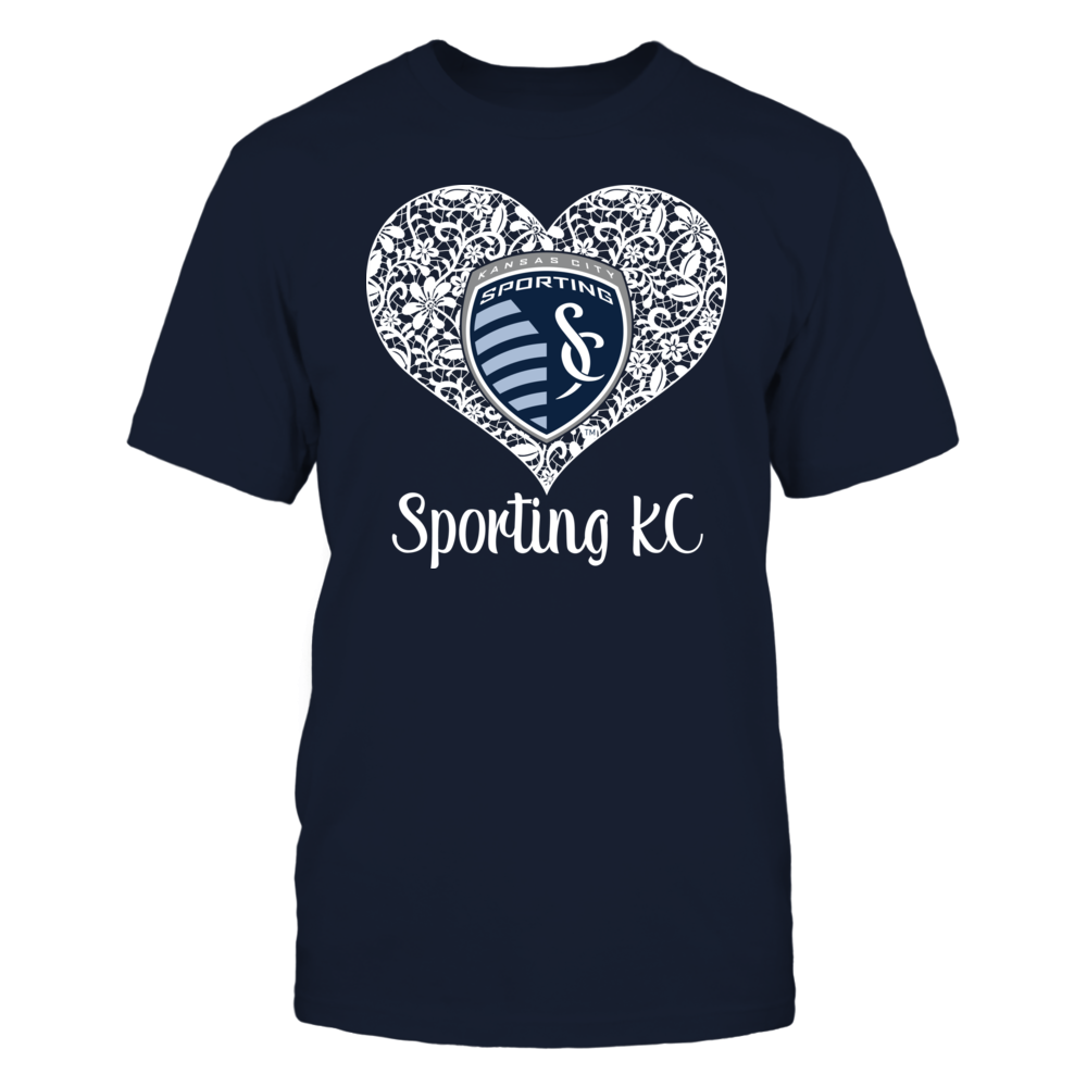 Sporting Kansas City - Lace Heart Logo Front picture