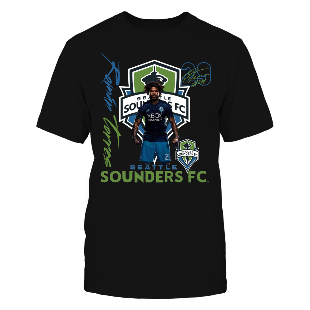 Official Seattle Sounders FC Fan Gear Roman Torres Front picture