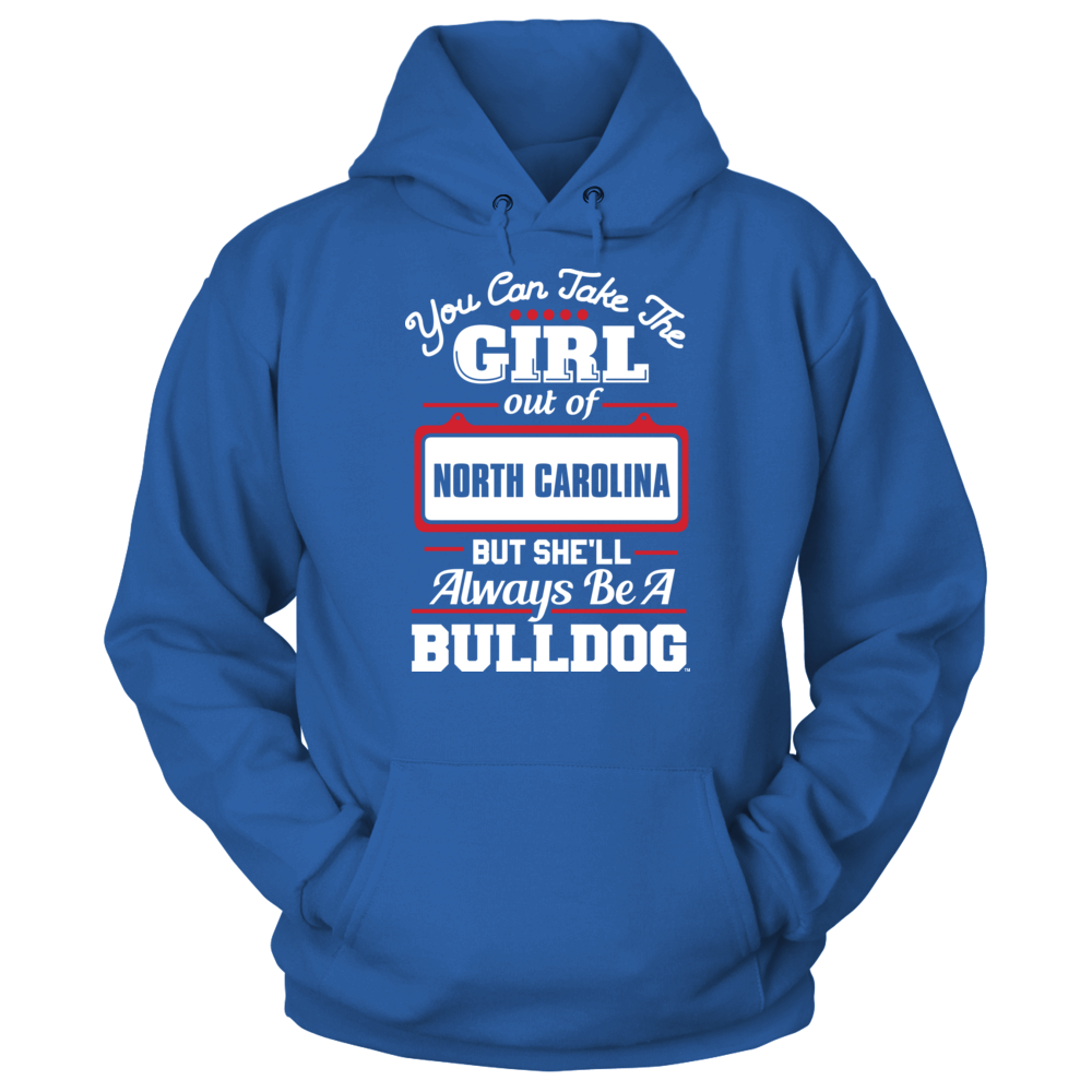 UNC Asheville Bulldogs Take The Girl Out But She'll Always Be - UNC Asheville Bulldogs FanPrint