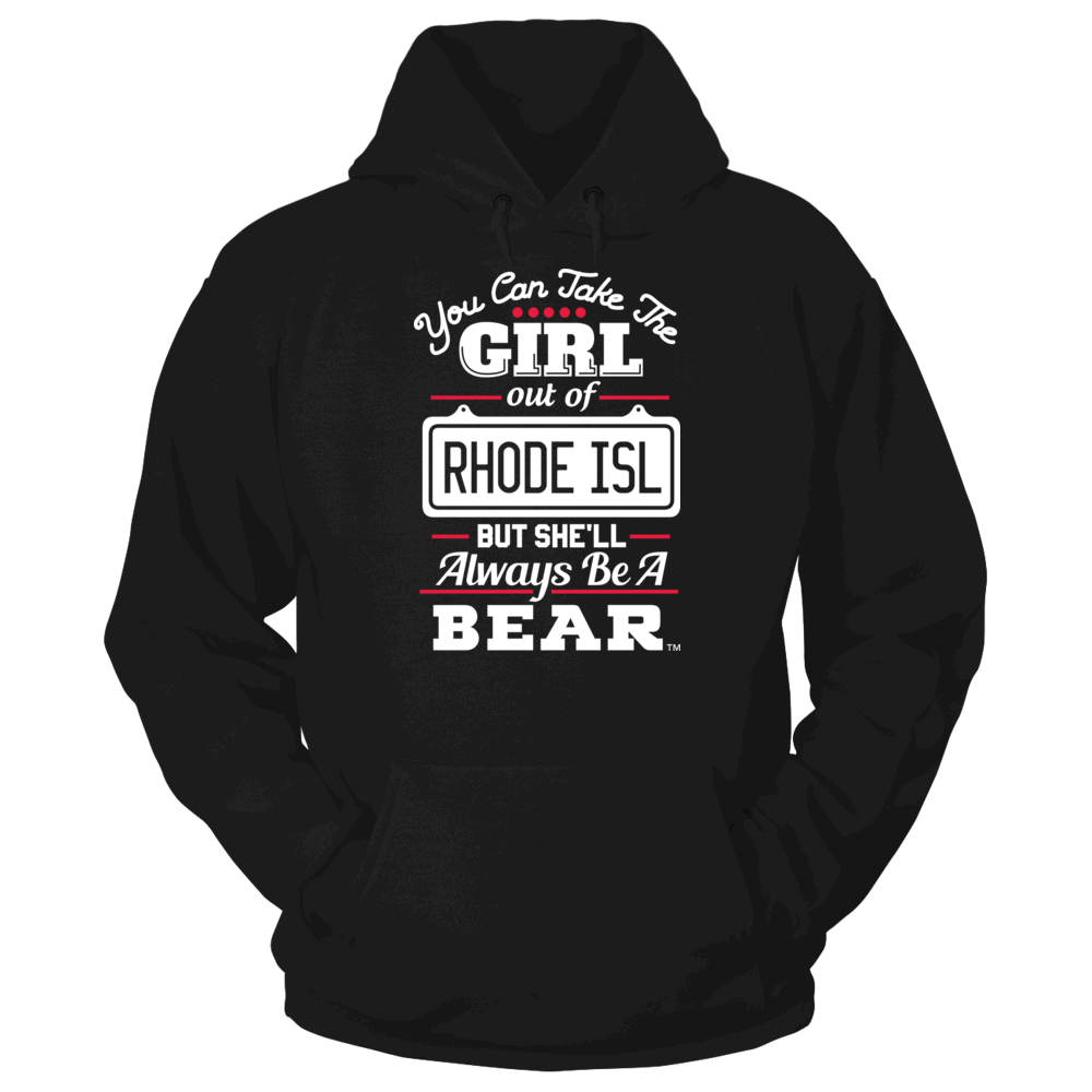 Brown Bears Take The Girl Out But She'll Always Be -  Brown Bears FanPrint