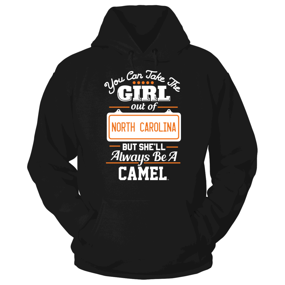 Campbell Fighting Camels Take The Girl Out But She'll Always Be - Campbell Fighting Camels FanPrint
