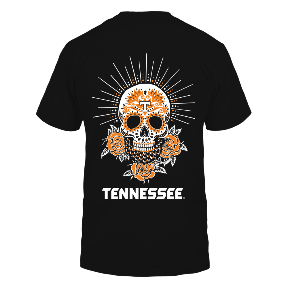 Tennessee Volunteers - Sugar Skull Ray Back picture