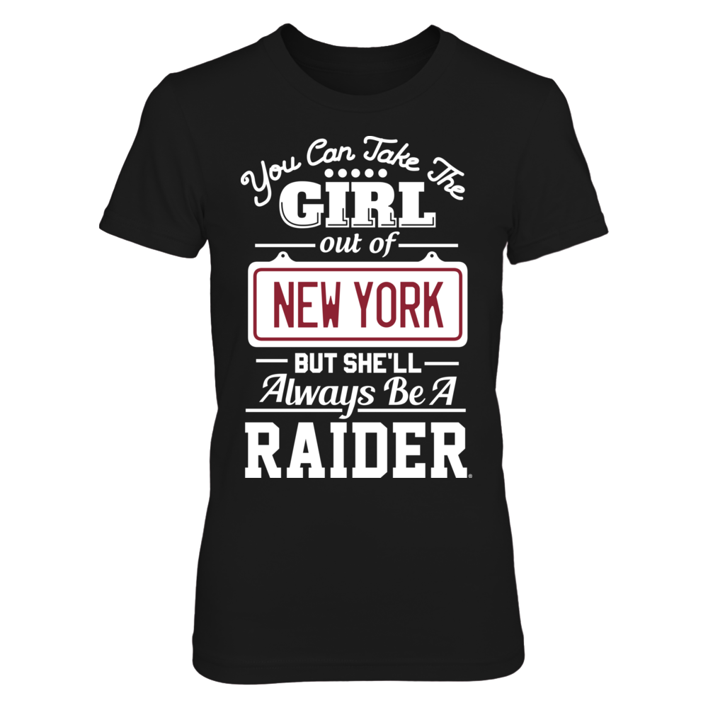 Colgate Raiders Take The Girl Out But She'll Always Be - Colgate Raiders FanPrint