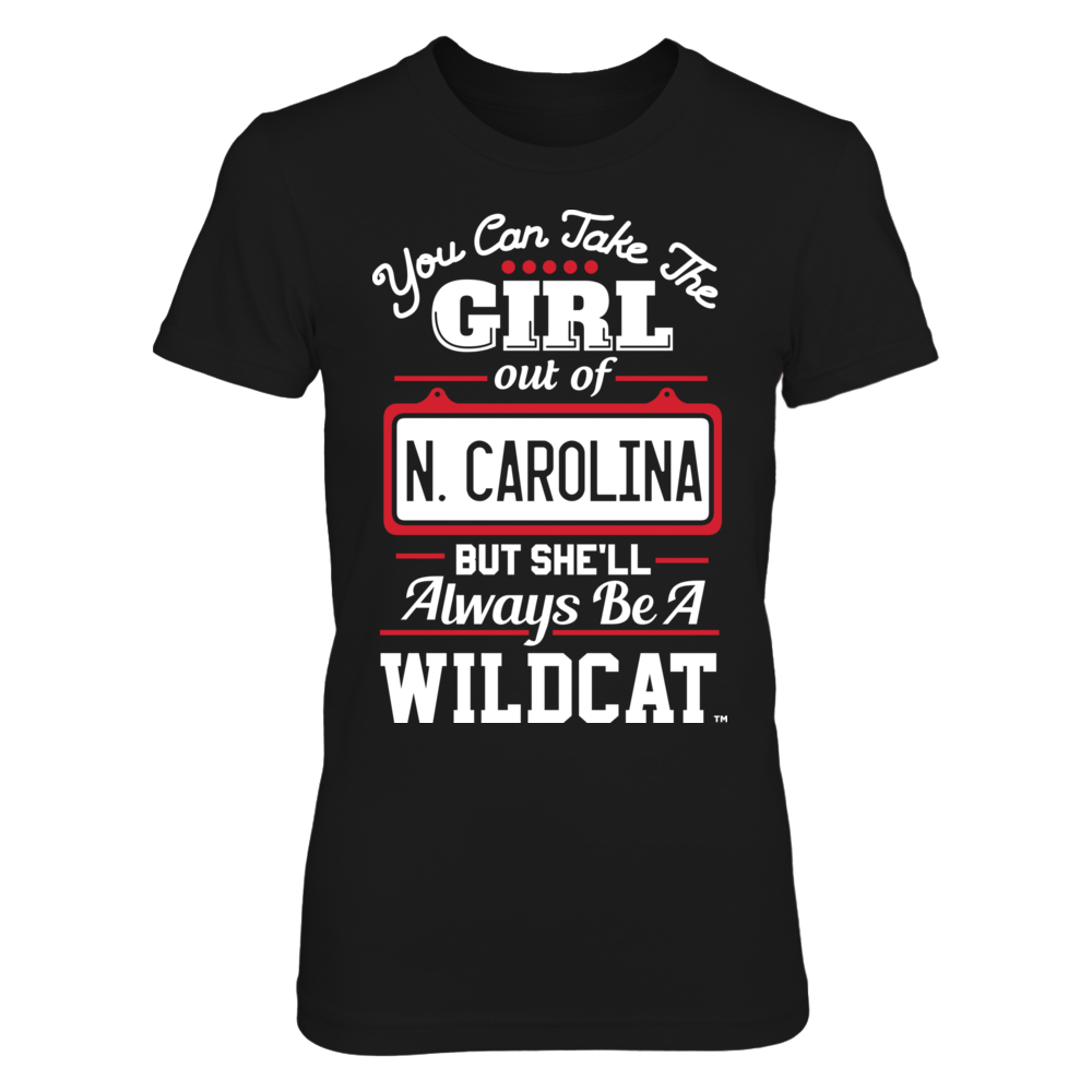 Davidson Wildcats Take The Girl Out But She'll Always Be - Davidson Wildcats FanPrint