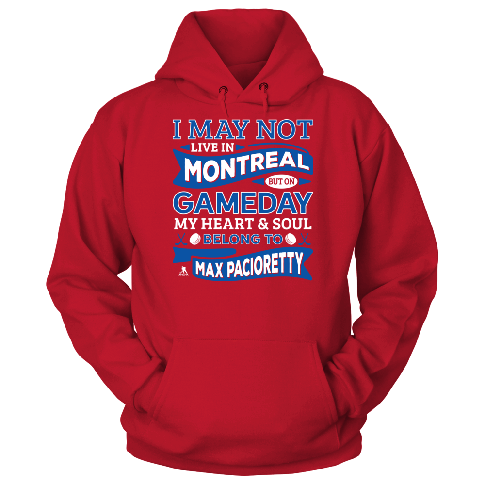 Max Pacioretty Max Pacioretty - My Heart And Soul Belong To FanPrint