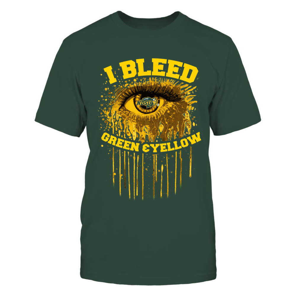 North Dakota State Bison - Bleeding Eye Front picture