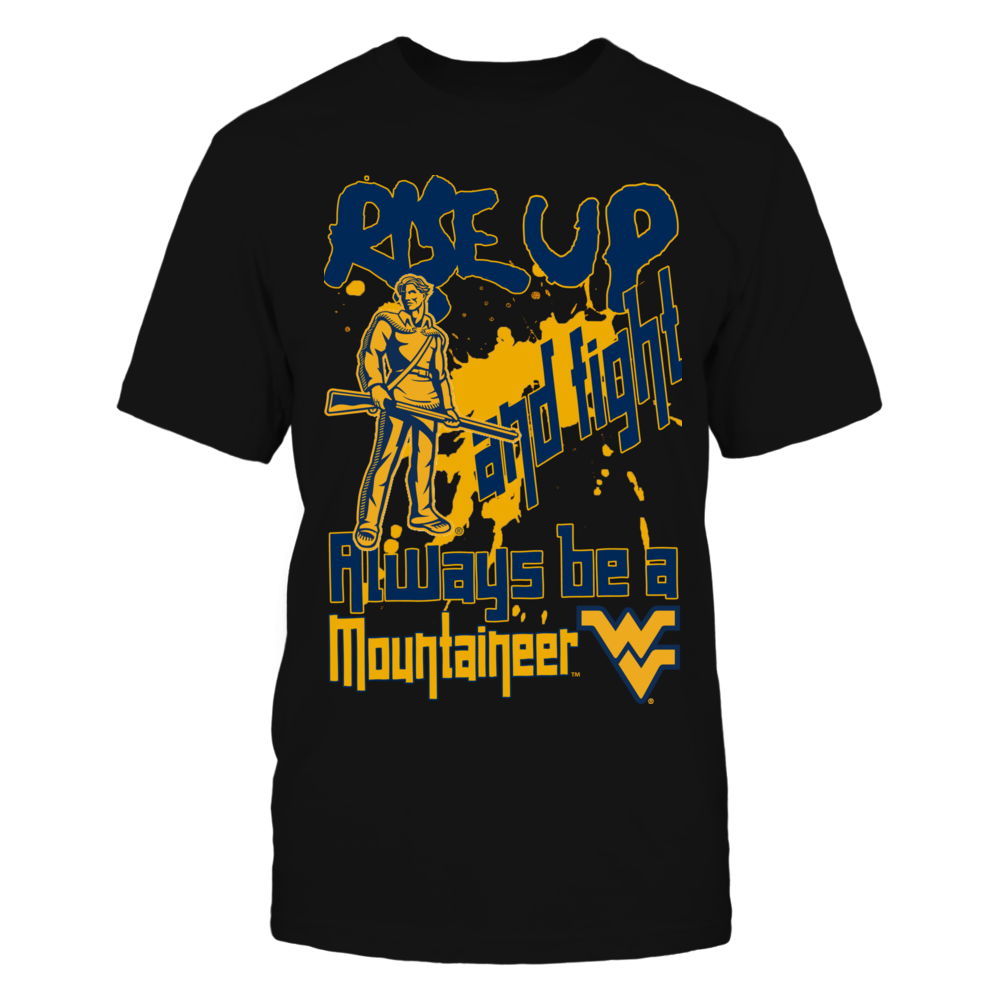 West Virginia Mountaineers - Rise Up and Fight Front picture