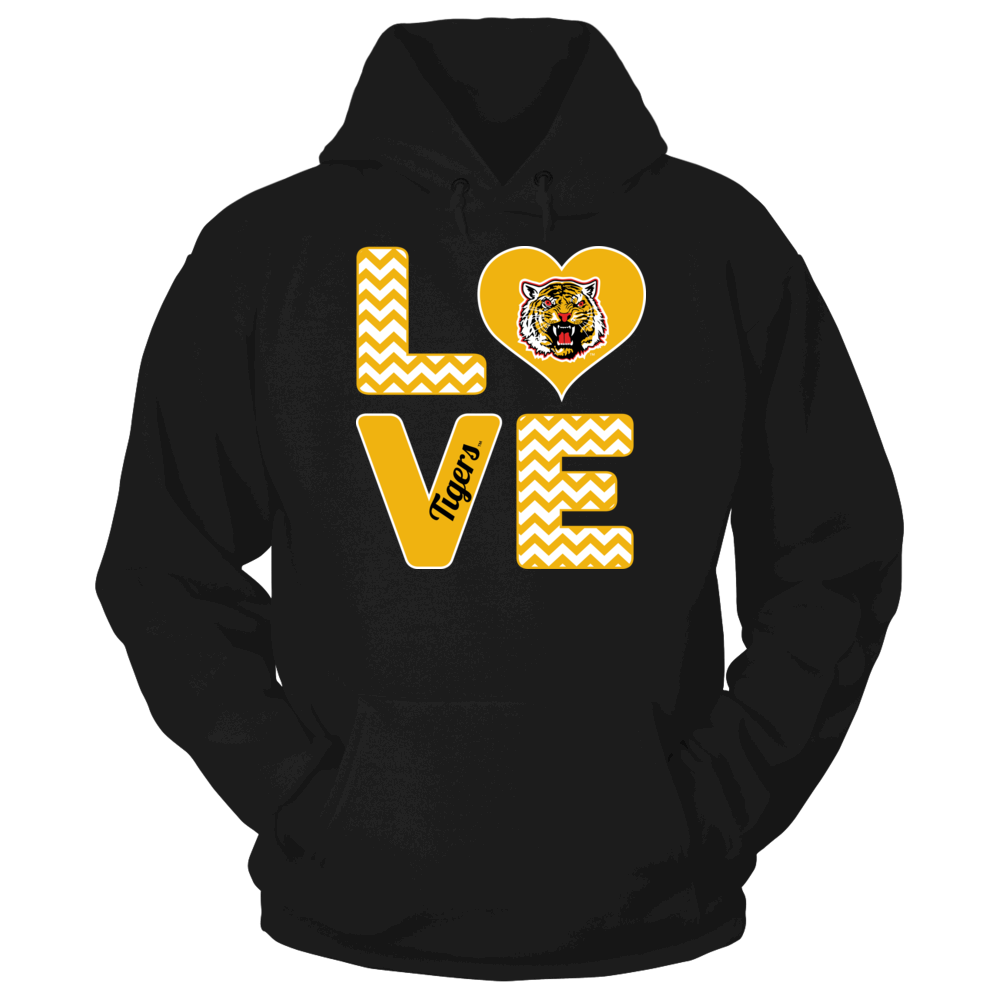 Stacked Love - Grambling State Tigers Front picture