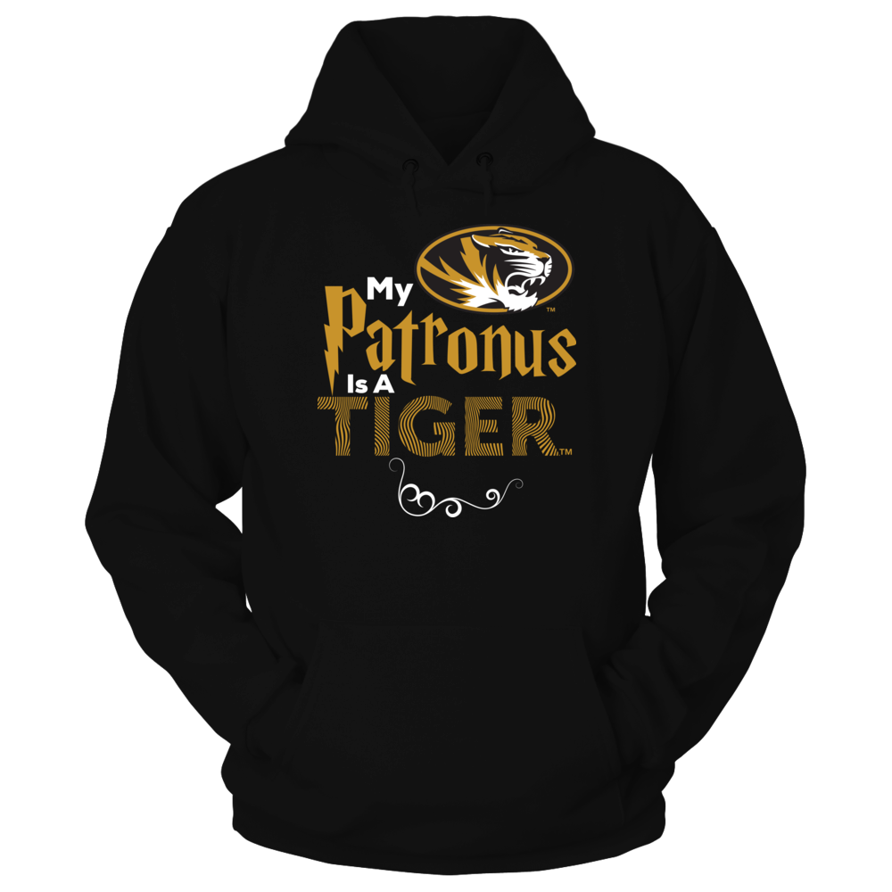Official Mizzou Tigers Fan Gear My Patronus Is A Tiger Front picture