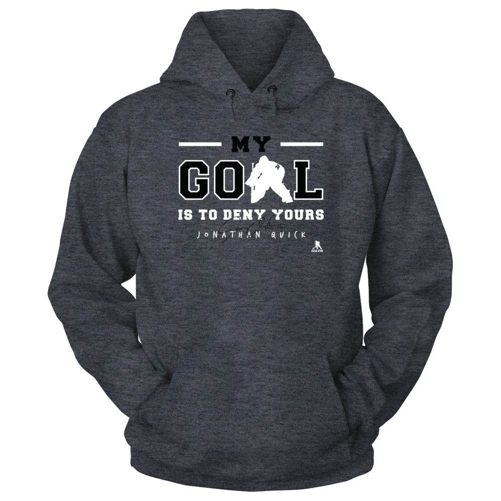 Jonathan Quick Jonathan Quick - My Goal Is To Deny Yours FanPrint