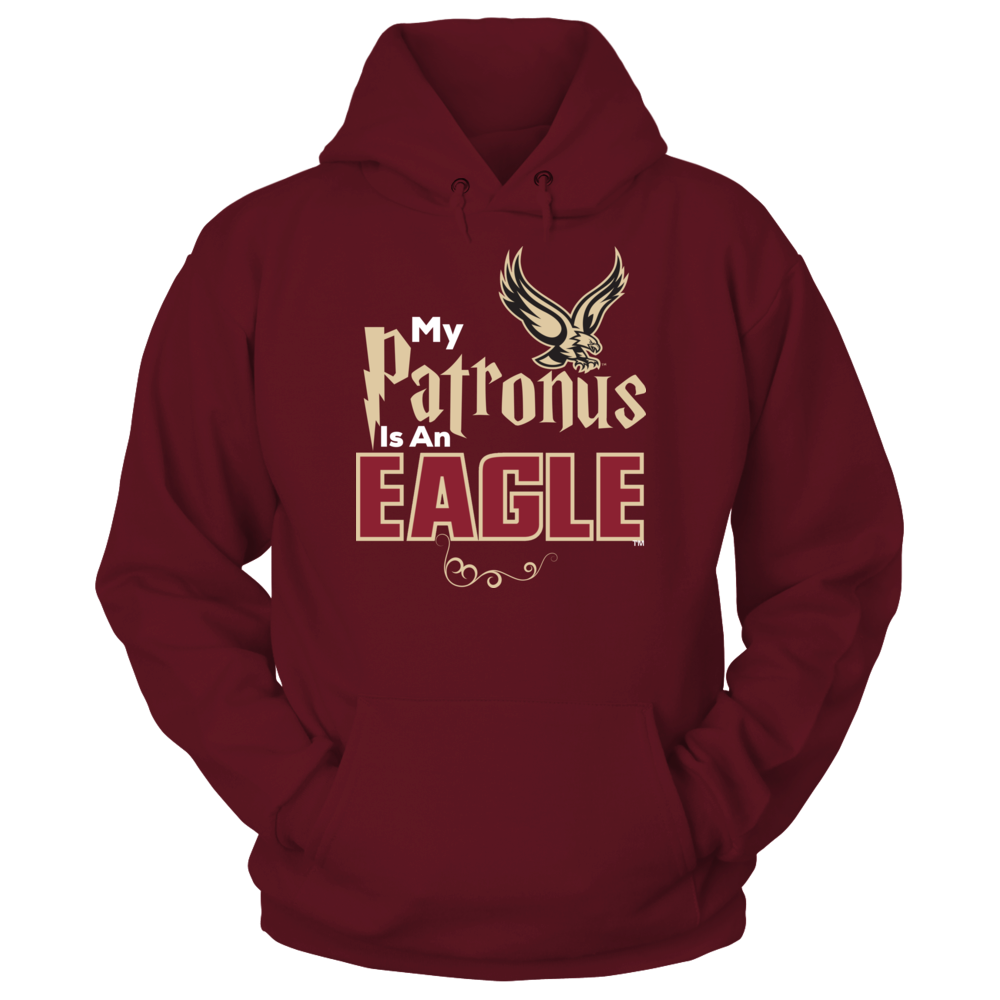 Official Boston College Eagles Fan Gear My Patronus Is An Eagle Front picture