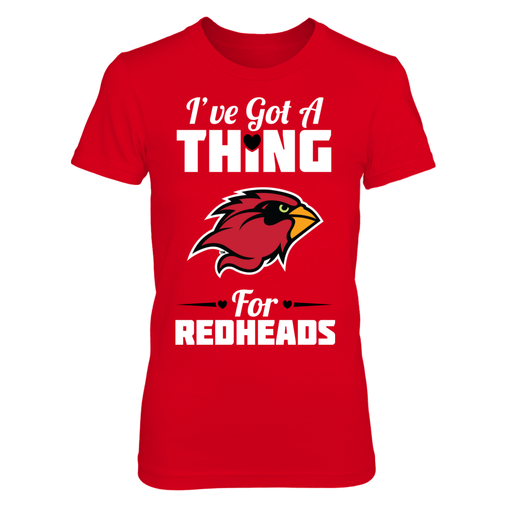 Lamar Cardinals I've Got A Thing For Redheads - Lamar Cardinals FanPrint