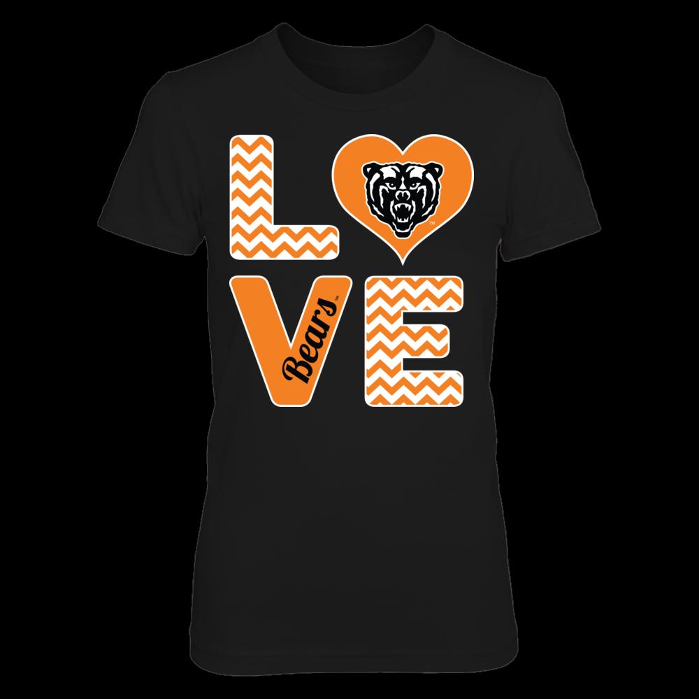 Mercer Bears Stacked Love - Mercer Bears FanPrint