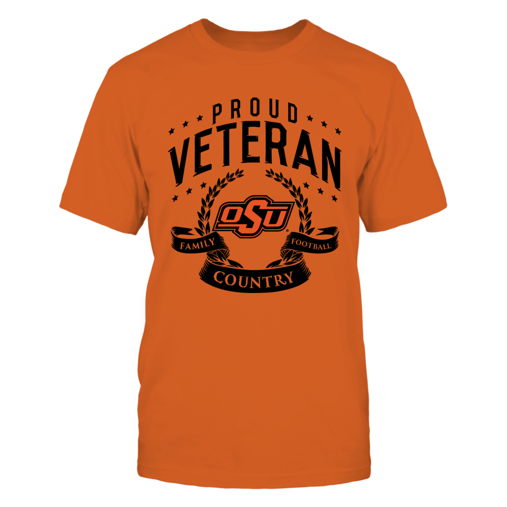 Proud Veteran Oklahoma State Front picture