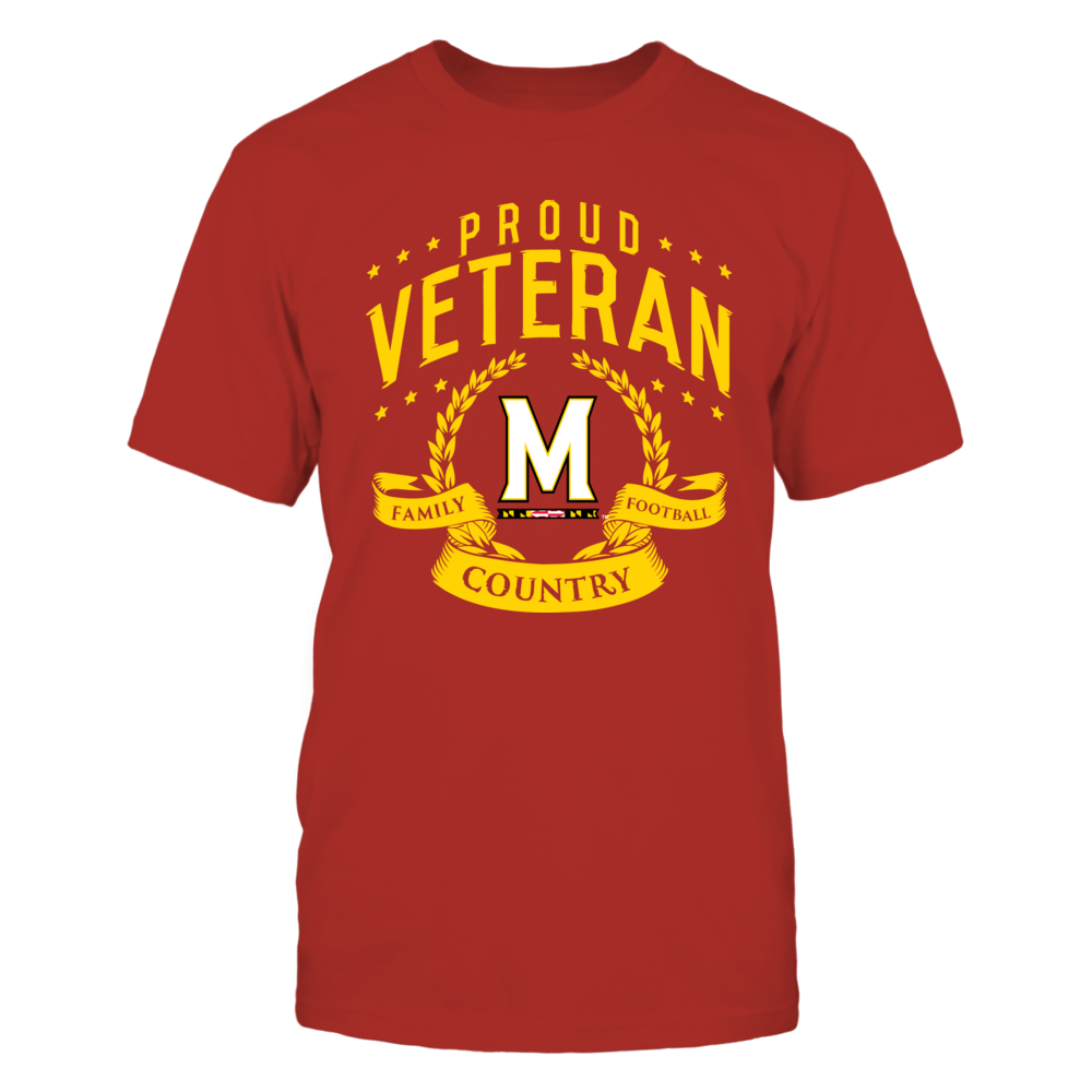 Maryland Terrapins Proud Veteran Front picture