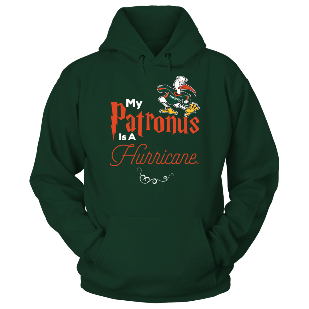 Miami Hurricanes Official University of Miami Hurricanes Fan Gear My Patronus Is A Ibis FanPrint