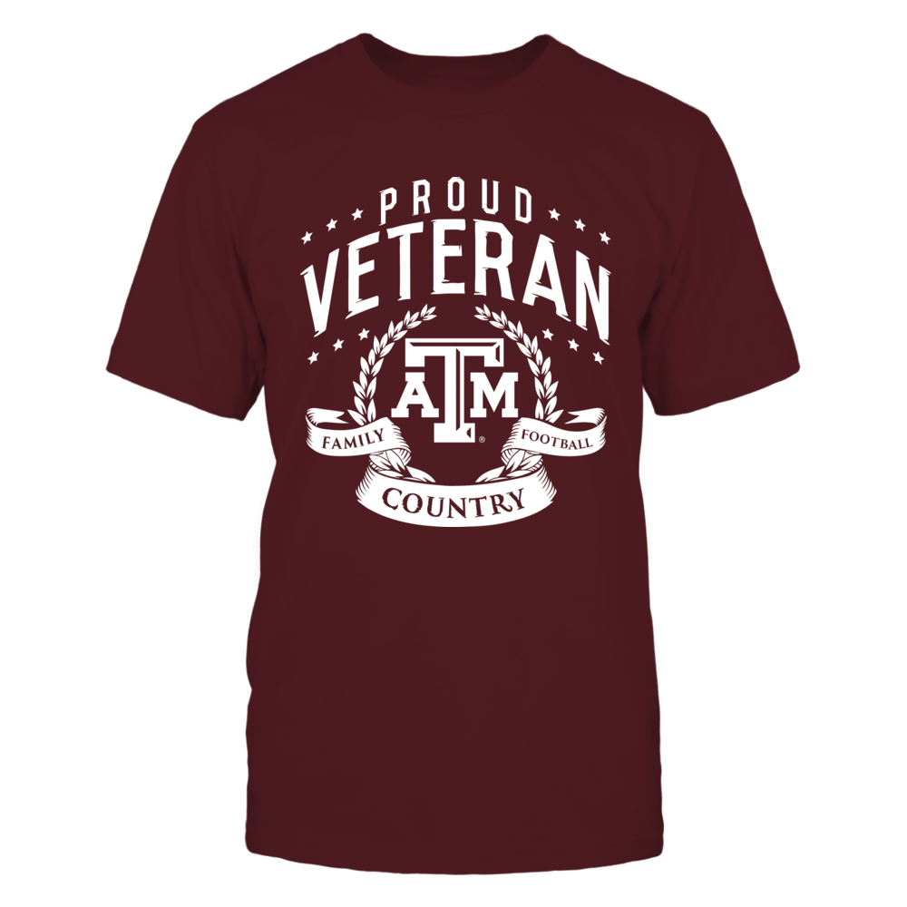 Proud Veteran Texas A&M Front picture