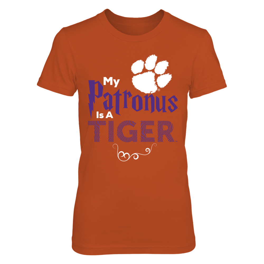 Official Clemson Tigers Fan Gear My Patronus is a Tiger Front picture
