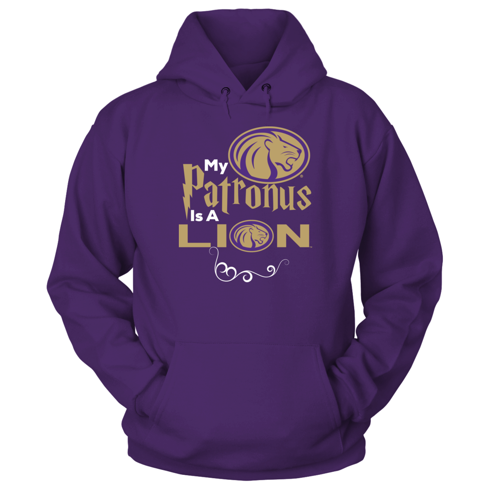 North Alabama Lions Official University of North Alabama Fan Gear My Patronus Is A Lion FanPrint