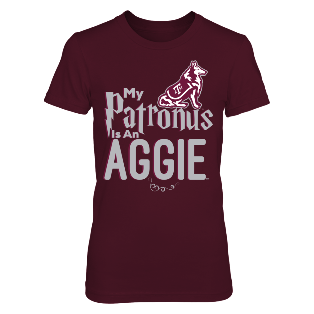 Official Texas A & M Aggies Fan Gear My Patronus is an Aggie Front picture