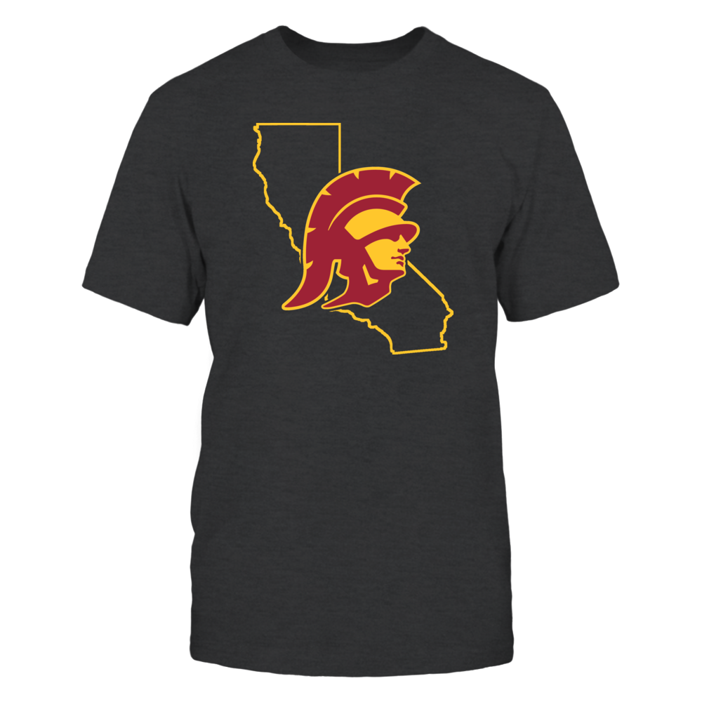 TROJAN IN STATE OUTLINE - USC TROJANS Front picture