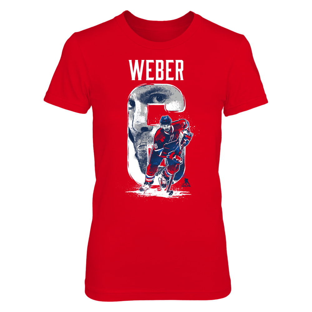 Player Number - Shea Weber Front picture